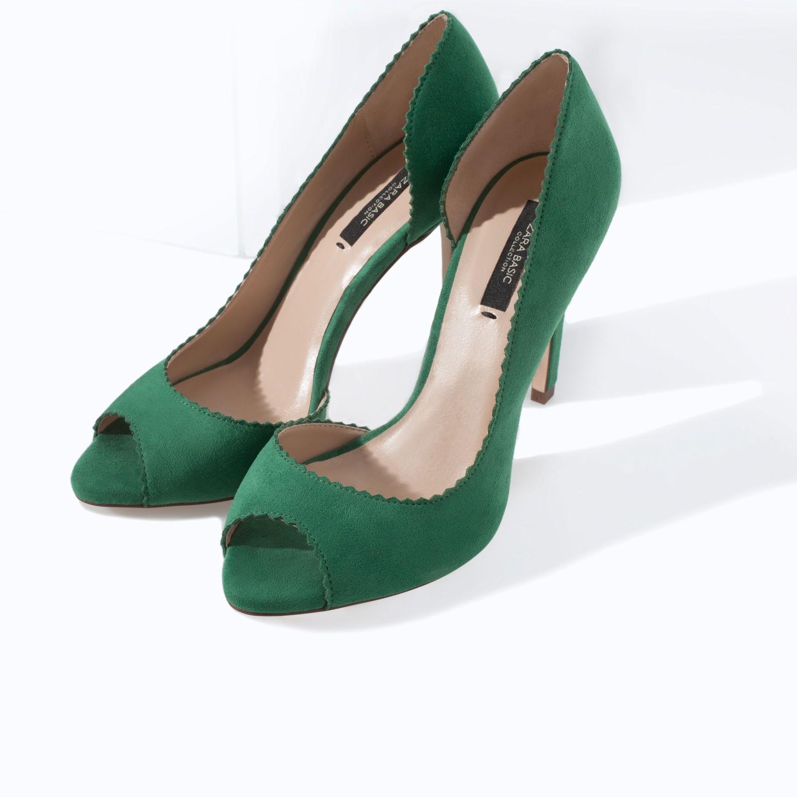 707fb315479 Zara High Heel Peep Toe