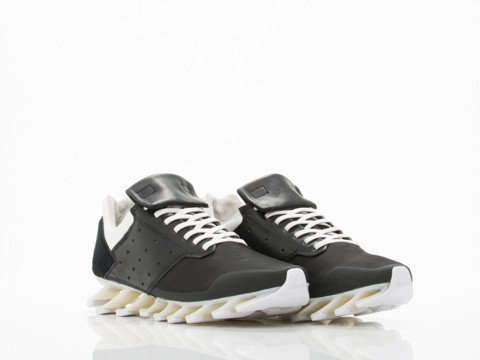 separation shoes d66e1 4dde4 Springblade Low Womens in Black Black White