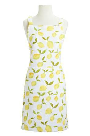 Sur La Table Lemon Printed Apron Pradux