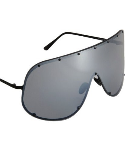 53ee682d125ae Rick Owens Oversized Shield Sunglasses