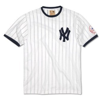 competitive price 29513 686fc New York Yankees Retro Jersey Replica T-Shirt