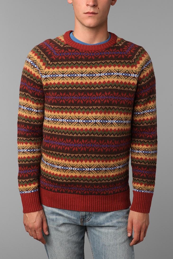 Urban Outfitters O'Hanlon Mills Fair Isle Sweater | Pradux