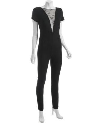 72af6bbf2ac2 Stella McCartney Lace Inset Jumpsuit