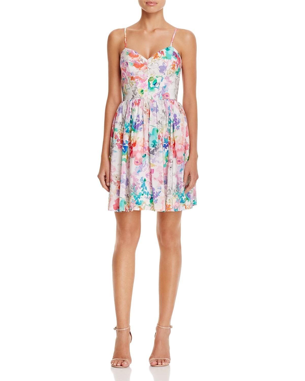 Amanda Uprichard Mai Tai Floral Silk Dress | Pradux