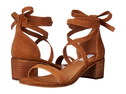Steve Madden Rizzaa Suede Lace-Up