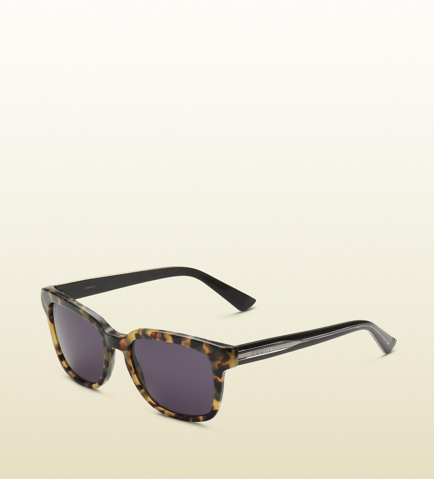 Gucci Square vintage style sunglasses