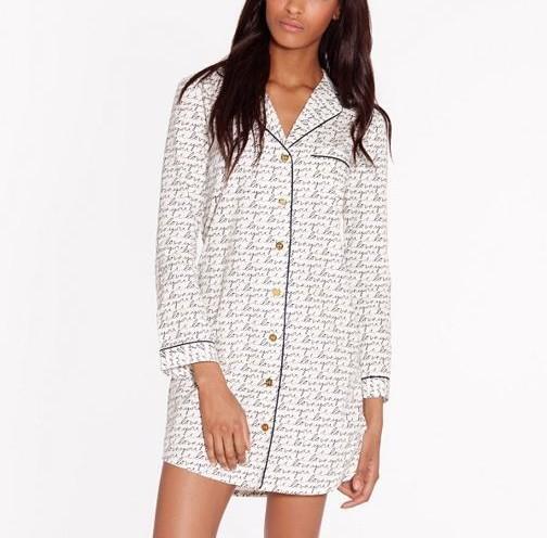 Tory Burch Mother 39 S Day Pajama Shirt Pradux