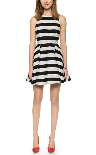 Alice olivia chase box pleat dress pradux for Anthropologie cuisine couture apron
