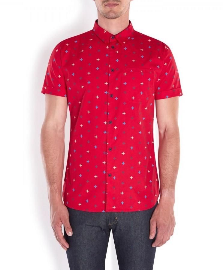1ca51b520c0 Marc by Marc Jacobs Morris Star Printed Cotton Shirt