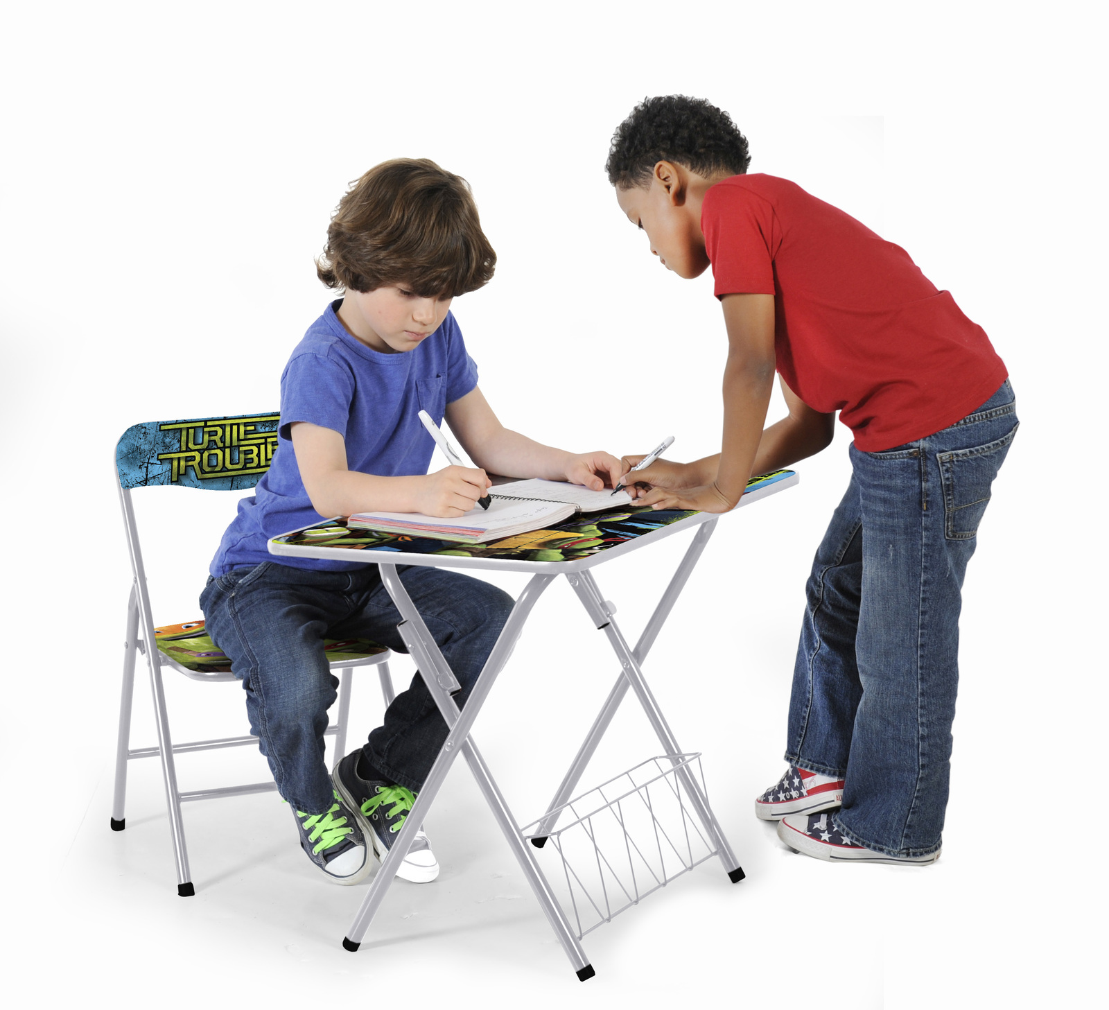 Prime Teenage Mutant Ninja Turtles Activity Desk And Chair Set Dailytribune Chair Design For Home Dailytribuneorg