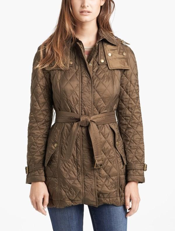 Burberry Brit Finsbridge Belted Quilted Jacket Pradux