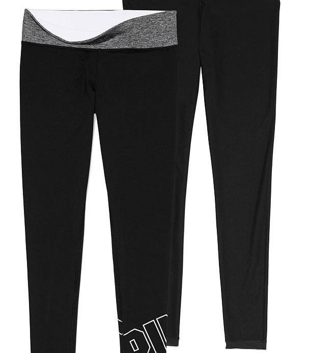 7c0716748733a1 Victoria's Secret Reversible Ultimate Yoga Leggings - PINK   Pradux