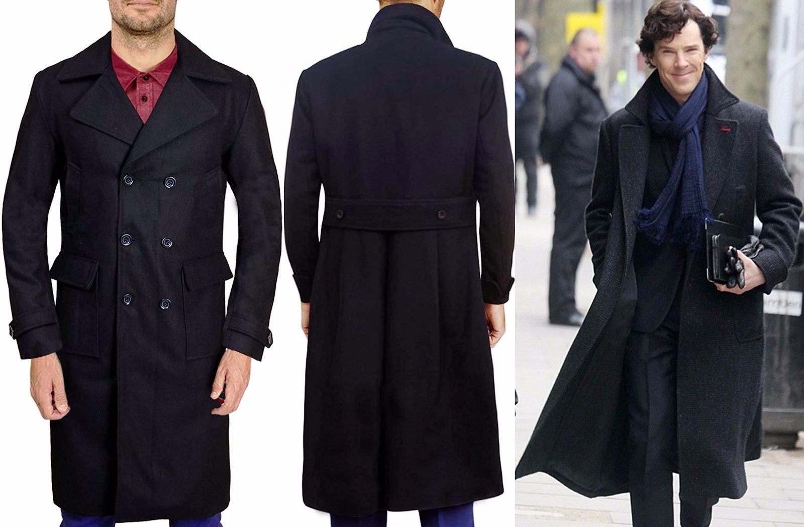 find workmanship no sale tax the best attitude Sherlock Holmes Benedict Cumberbatch Trench Coat Jacket - Best Price - All  Sizes