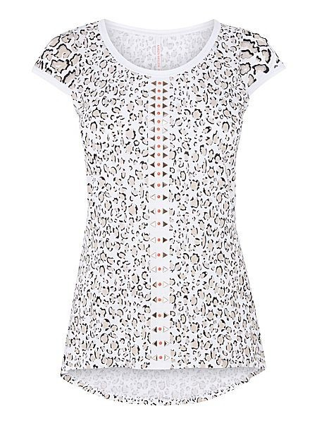 ceb92aed4c9 Karen Millen Leopard Print T-Shirt | Pradux