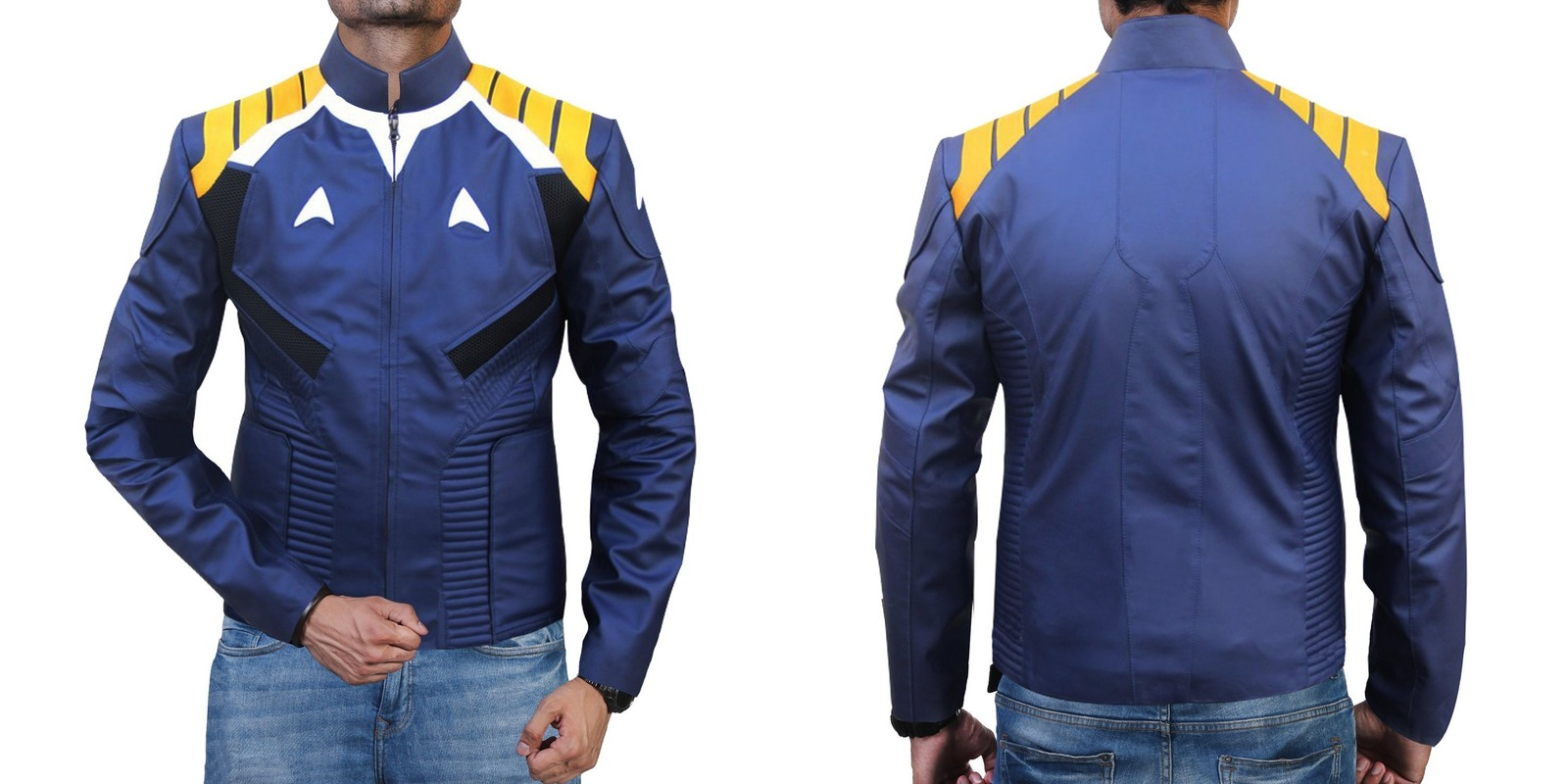 09575a405 Chris Pine Star Trek Beyond Captain Kirk Leather Jacket