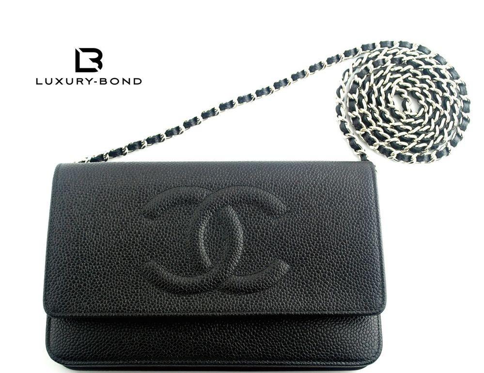 450cb4c42e4b Chanel CHANEL Timeless Caviar CC Woc Wallet On Chain Bag in Black Boy
