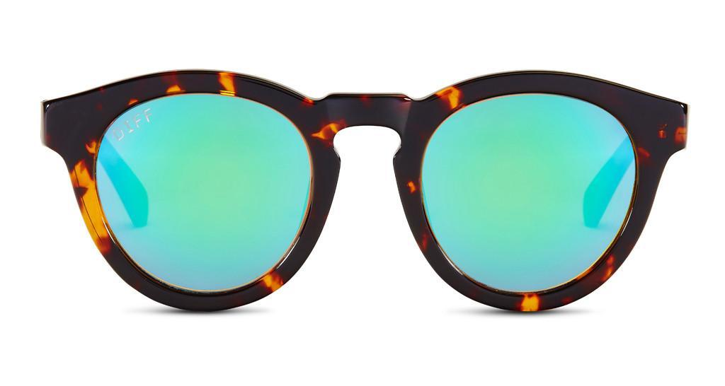 81db32754e29a DIFF EyewearDIME II - TORTOISE FRAME - BLUE MIRROR LENS 75. Buy NowMore Info