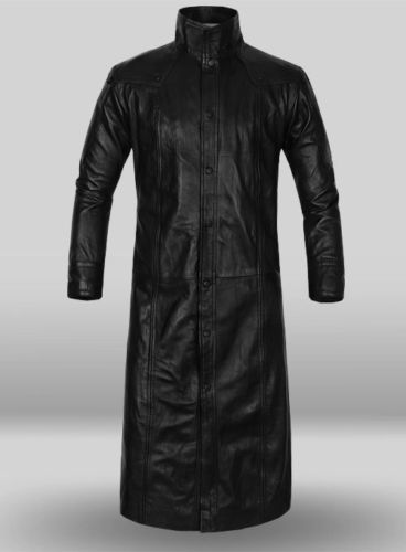 1f0cd48d50a The Jasperz AVENGERS 4 Nick Fury Leather Coat Captain America The Winter  Soldier Coat!