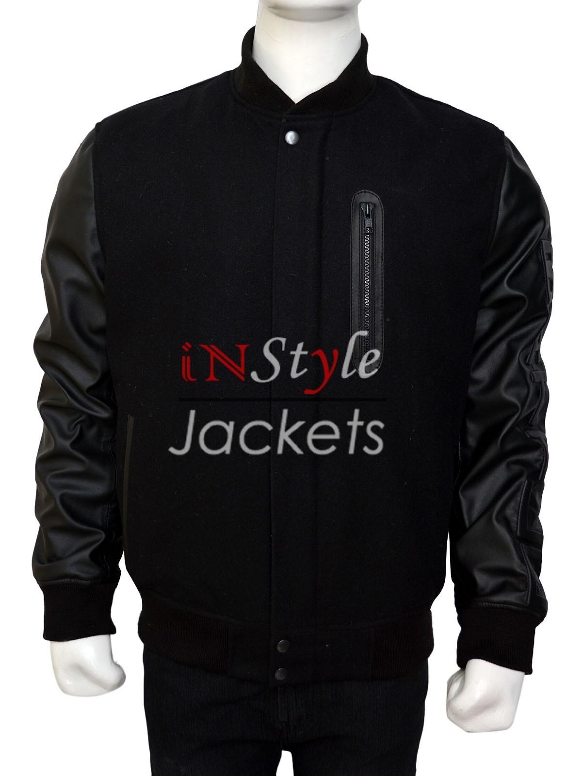 100e013edd53be Instyle Jackets Michael B Jordan Creed 2015 Movie Black Jacket